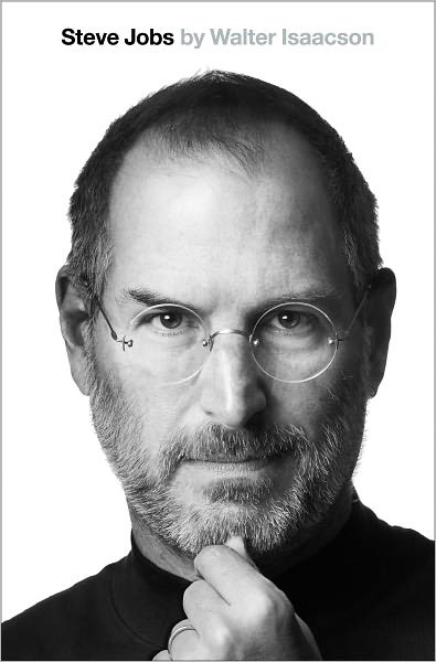 Steve Jobs biography book cover